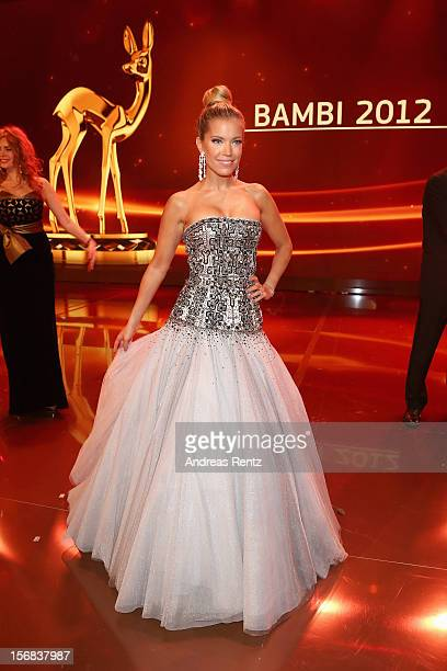 DUESSELDORF GERMANY NOVEMBER Sylvie van der Vaart attends 'BAMBI Awards 2012' at the Stadthalle Duesseldorf on November 22 2012 in Duesseldorf Germany