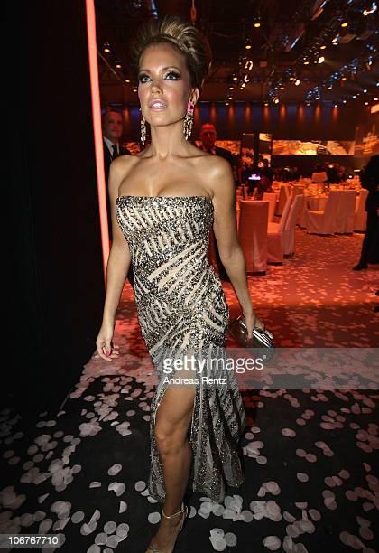 Sylvie van der Vaart attends the Bambi 2010 Award After Show Party at Filmpark Babelsberg on November 11, 2010 in Potsdam, Germany.
