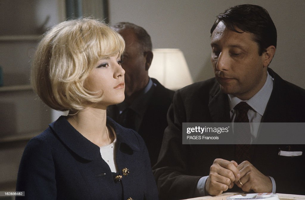 Sylvie Vartan At Home And During The Shooting Of The Film U0027Patateu0027 With  Danielle