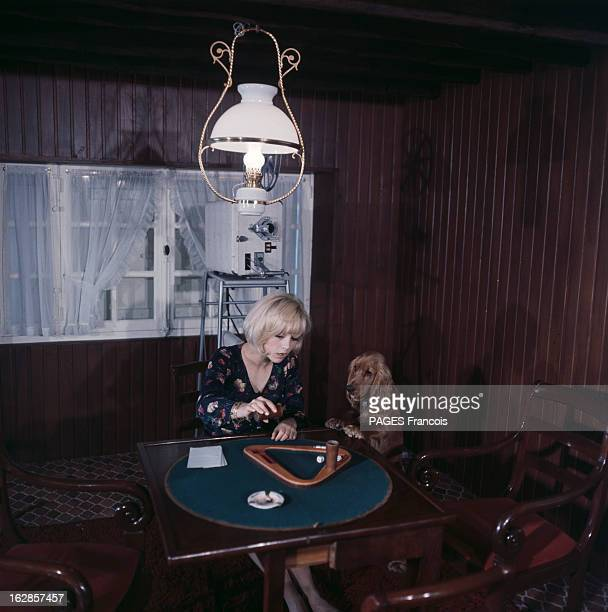 Sylvie Vartan At Home And During The Shooting Of The Film 'Patate' With Danielle Darrieux And Jean Marais France Grosrouvre mai 1964 on retrouve la...