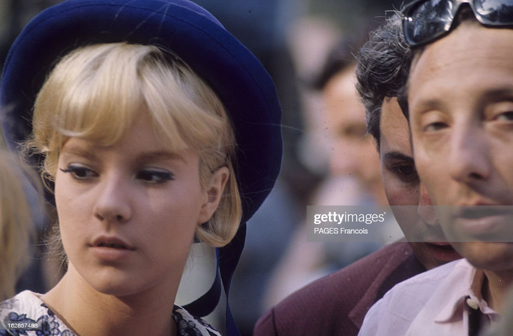 Good Sylvie Vartan At Home And During The Shooting Of The Film U0027Patateu0027 With  Danielle