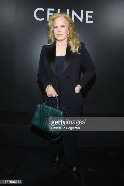 Sylvie Vartan attends the Celine Womenswear Spring/Summer 2020 show as part of Paris Fashion Week on September 27, 2019 in Paris, France.