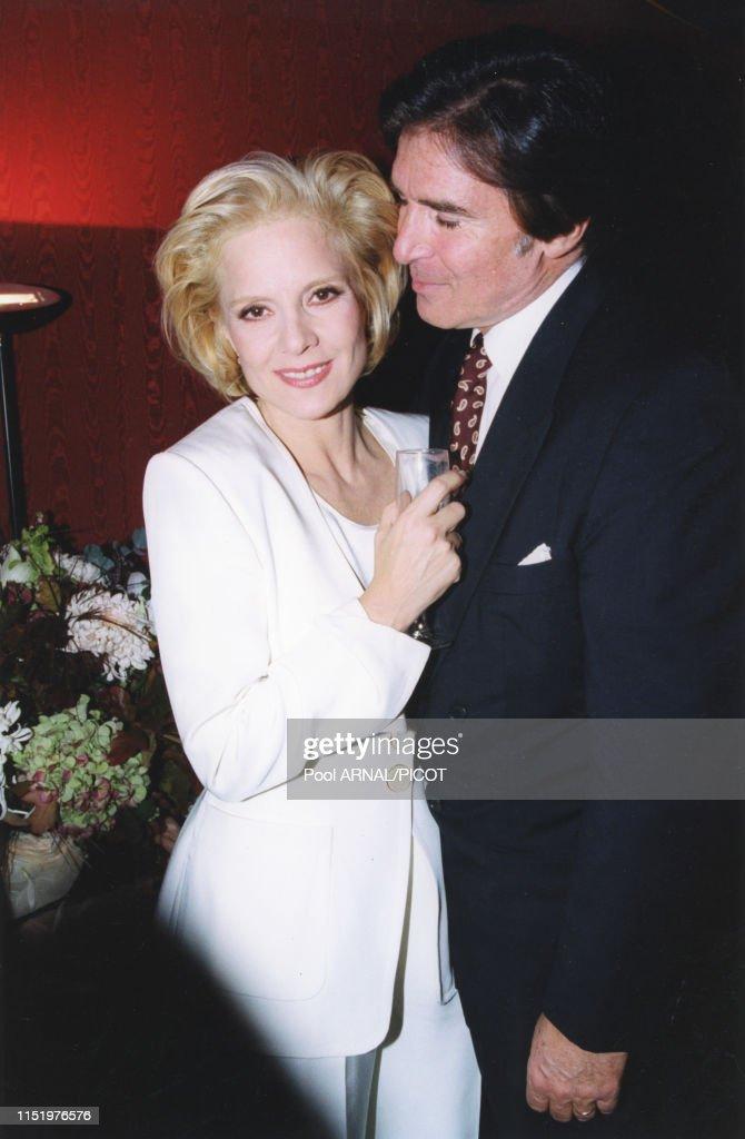 Sylvie Vartan et Tony Scotti en 1996 : News Photo