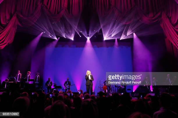 Sylvie Vartan performs at Le Grand Rex on March 16 2018 in Paris France