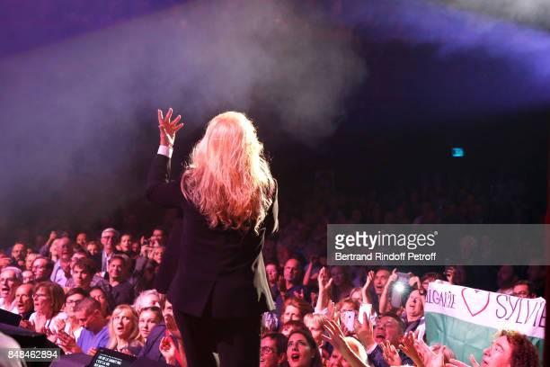 Sylvie Vartan performs at L'Olympia on September 16 2017 in Paris France