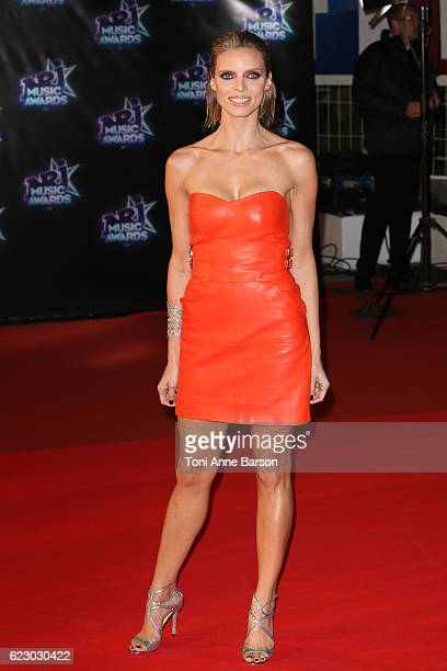 Sylvier Tellier arrives at the 18th NRJ Music Awards at the Palais des Festivals on November 12 2016 in Cannes France