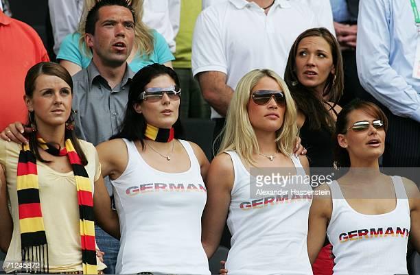 Sylwia wife of Miroslav Klose Petra wife of Thorsten Frings Lena girlfriend of Tim Borowski Simone Lambe girlfriend of Michael Ballack Nicola...