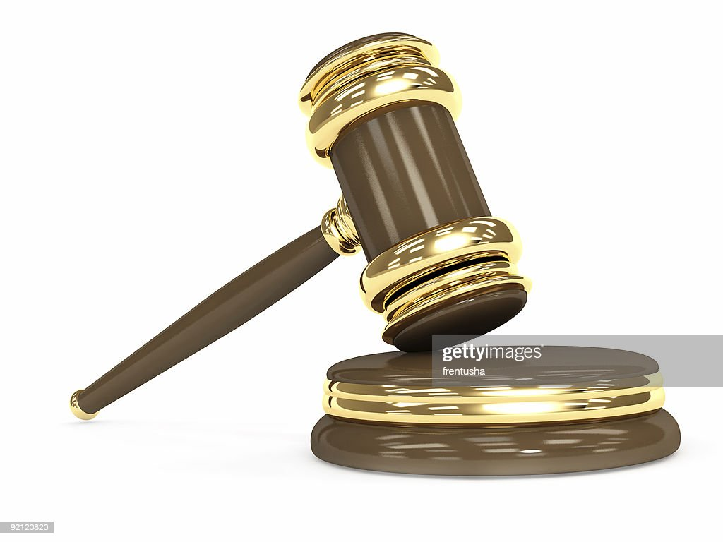 Symbol Of Justice Judicial 3d Gavel Stock Photo Getty Images