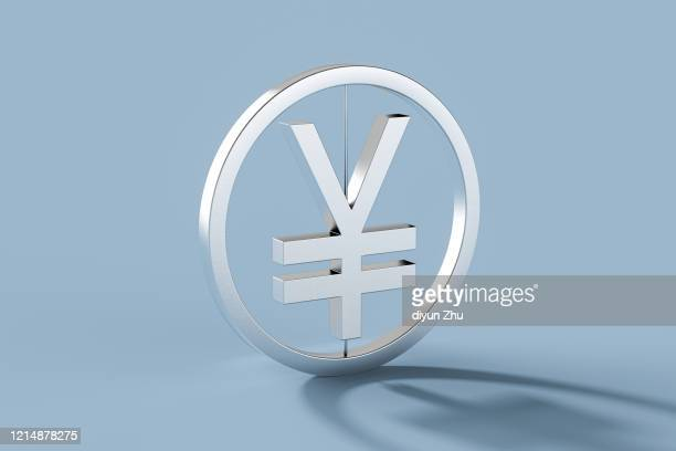 symbol of rmb,3d render - chinese currency stock pictures, royalty-free photos & images