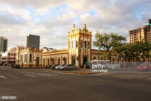 a symbol of the city of pelotas - mercado publico - リオグランデドスル州 ストックフォトと画像