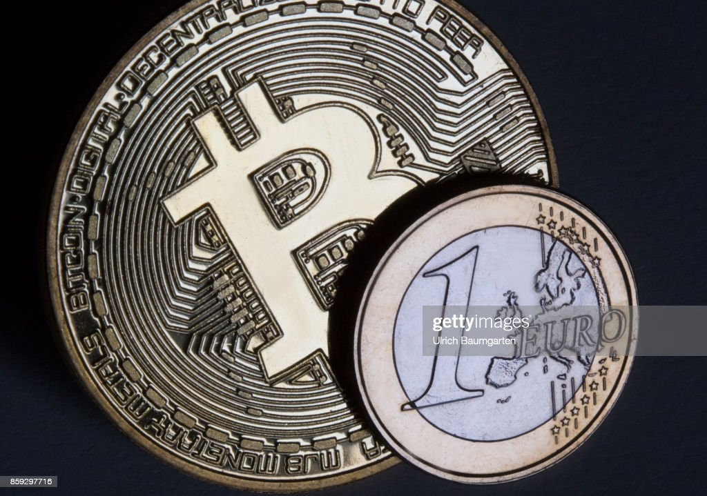 Symbol Photo On The Subject Bitcoin Euro Pictures Getty Images