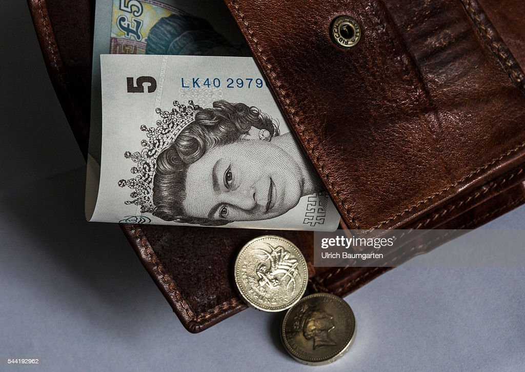 Symbol Photo On The Subjects Brexit British Pounds Sterling