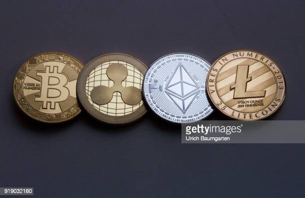 Symbol photo on the topics Crypto currencys digital currencys money laundering fluctuations in value currency speculation etc The picture shows...