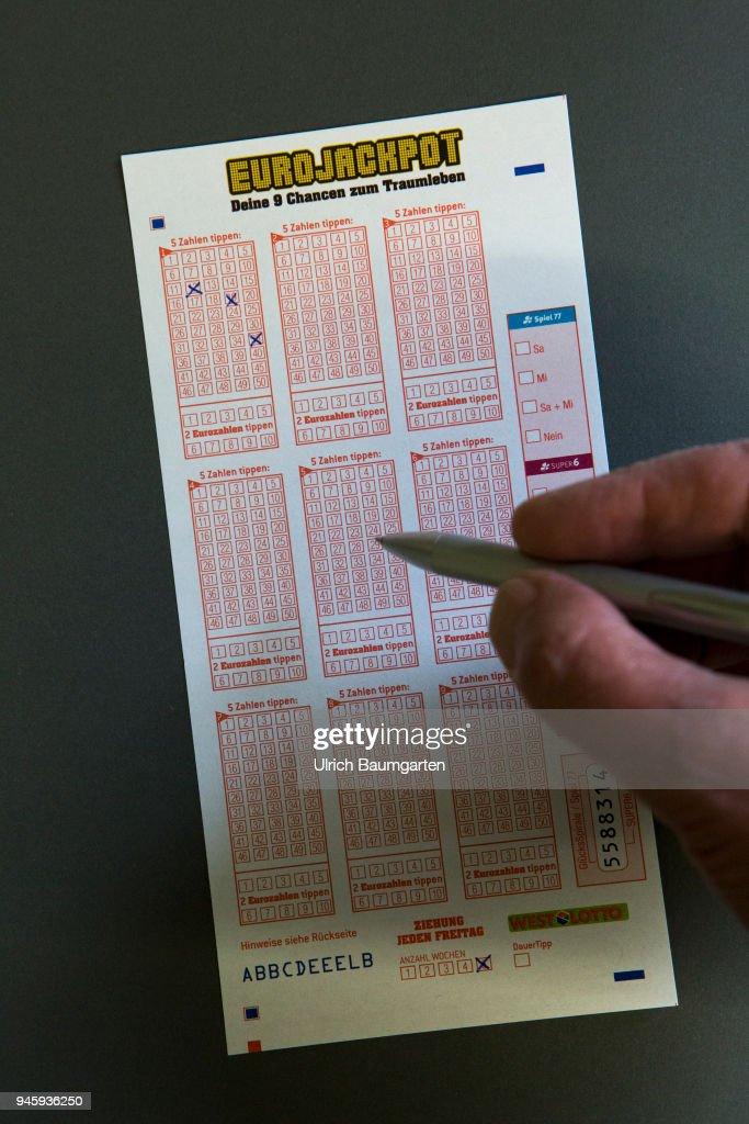 Symbol photo on the topics gambling, gambling addiction