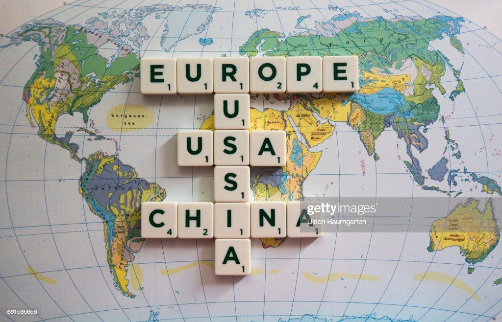 Symbol photo world trade world policy world economy russia europe symbol photo on the topics world policy world trade world economy etc gumiabroncs Choice Image