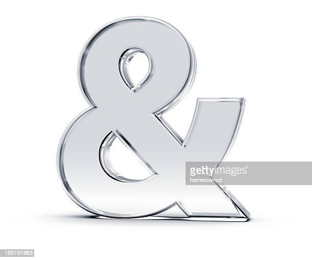 & symbol - font stock-fotos und bilder