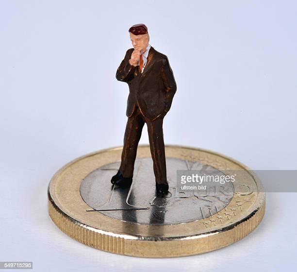 Symbolbild Miniaturfigur Euro