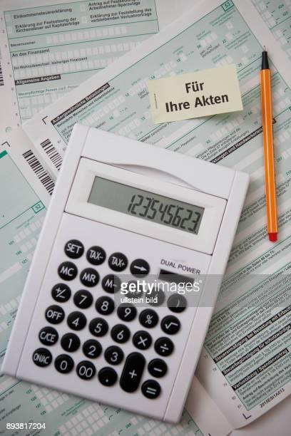 GER Symbolbild Steuern