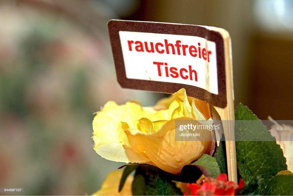Symbolfoto Rauchfreier Tisch Pictures Getty Images