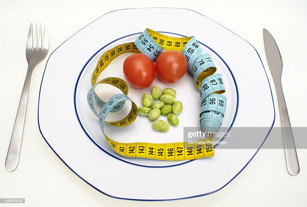 Symbolic for diet, calorie : Stock Photo