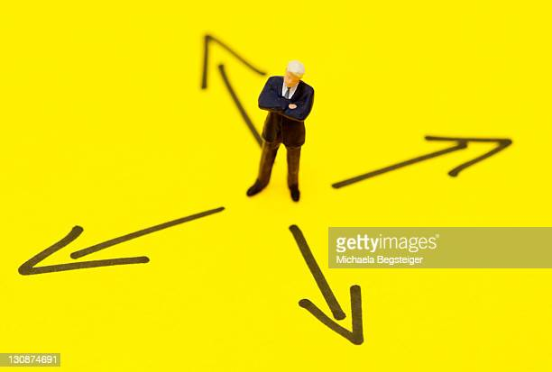 Symbolic for right way in business