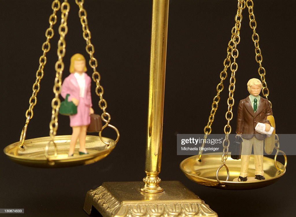 Symbolic for sexual equality : Stock Photo