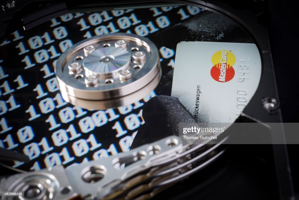 Close-up Of A Hard Drive : News Photo