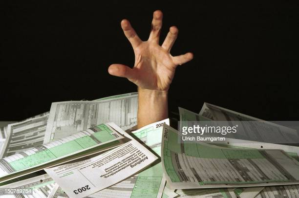 Symbolic picture to the topics tax inland revenue office tax return forms of 2003