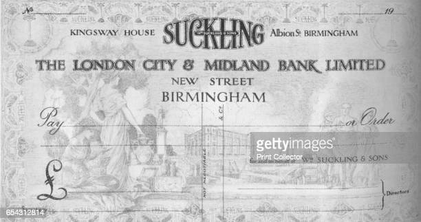 A Symbolical Cheque Design 1917 Midland Bank Plc was one of the Big Four banking groups in the United Kingdom for most of the 20th century It is now...
