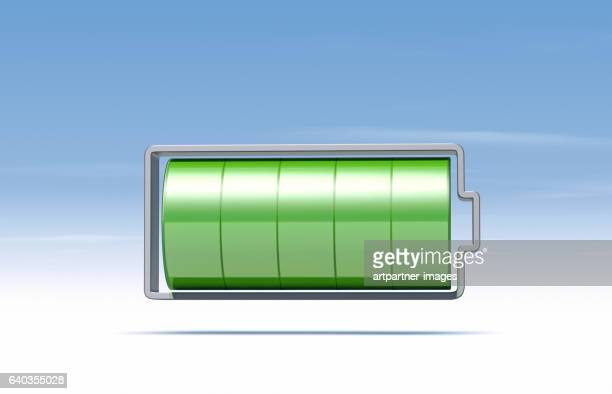 symbolized Battery, fully charged
