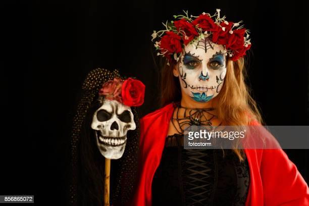 símbolos del día de los muertos - day of the dead fotografías e imágenes de stock