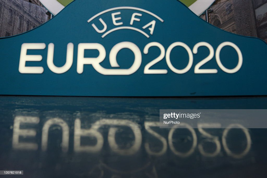 Euro 2020 Football Championship Postponed For A Year : News Photo