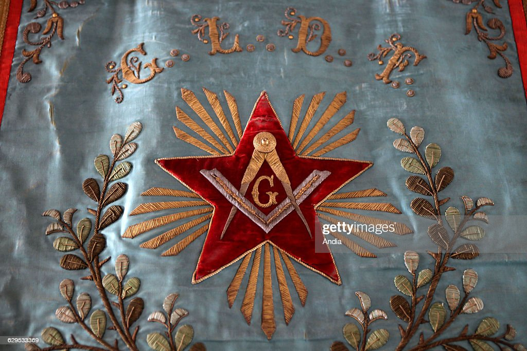 Symbols Of Freemasonry Letter G In The Middle Of A Star The Square