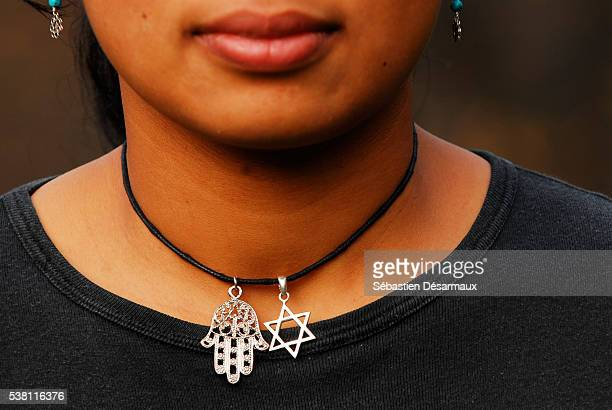 symbols of judaism and islam - judaism stock pictures, royalty-free photos & images
