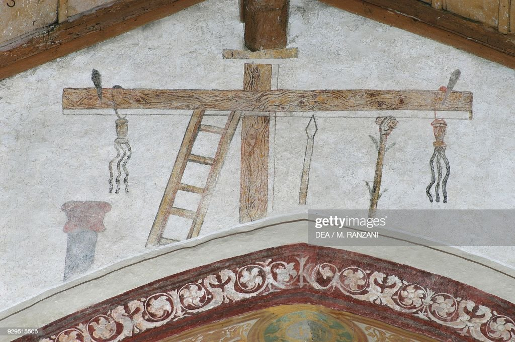 Symbols Of Passion Fresco Lombardy Pictures Getty Images