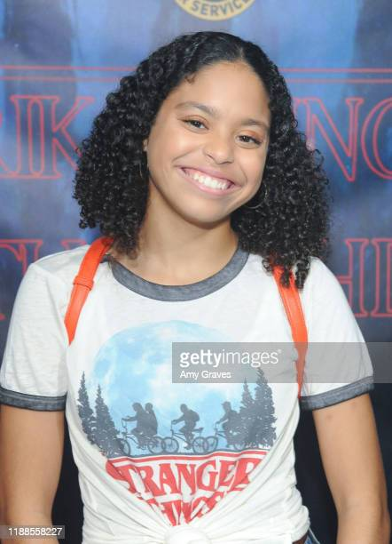 Symera Jackson attends Tarik Ellinger's 16th Birthday Party In The Upside Down at Starwest Studios on December 13 2019 in Burbank California