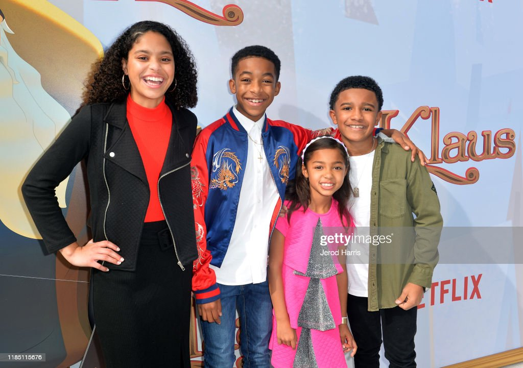 Symera Jackson Isaiah Russell Bailey Jordyn Raya James And Cameron News Photo Getty Images