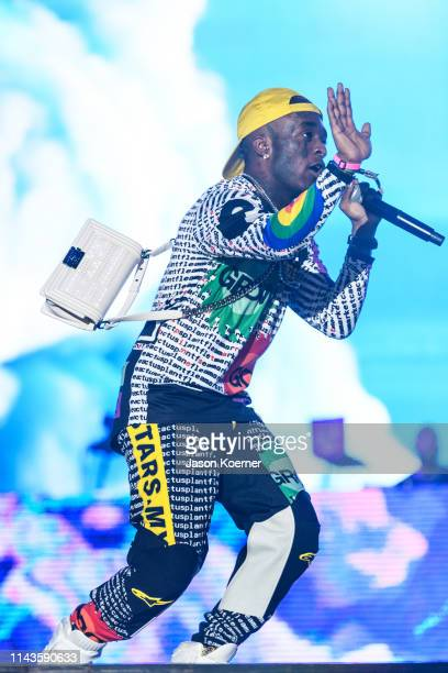 Symere Woods known by his stage name Lil Uzi Vert performs during day three of Rolling Loud at Hard Rock Stadium on May 12 2019 in Miami Gardens FL