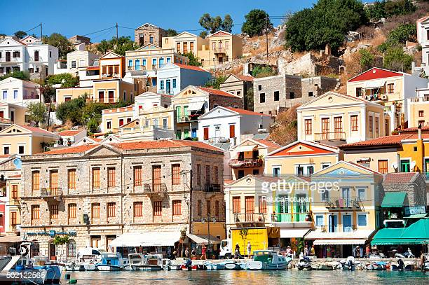 symi - symi stock photos and pictures