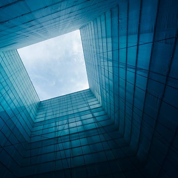 Symmetric contemporary architecture