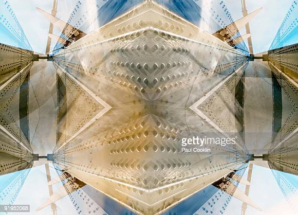 Symmetrical Abstract Architecture