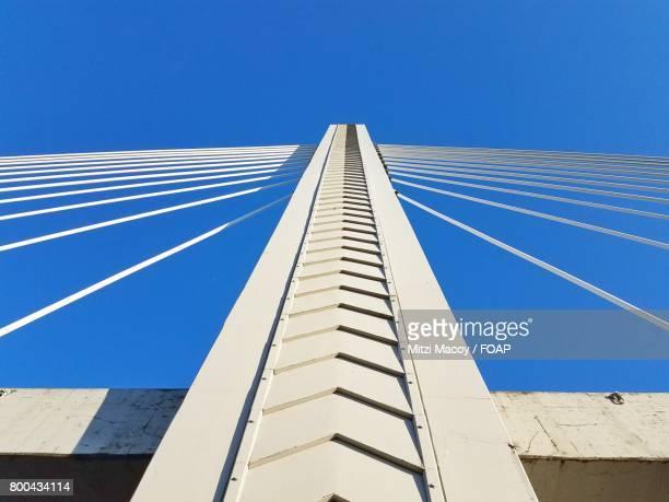 Symmetry of cable strayed bridge