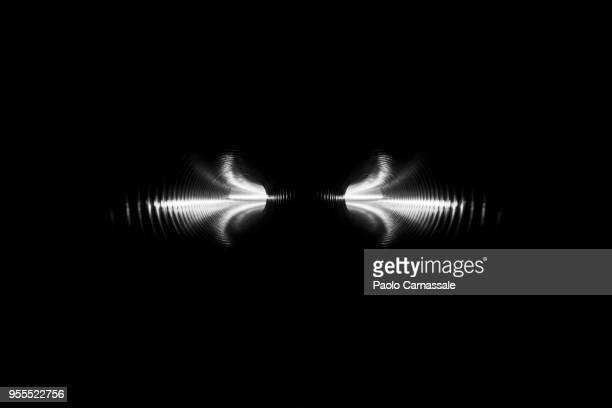 Symmetry of illuminated plastic tunnel