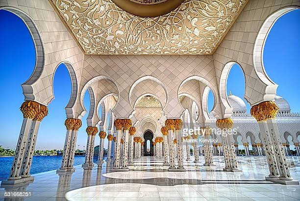 symmetry - abu dhabi stock pictures, royalty-free photos & images
