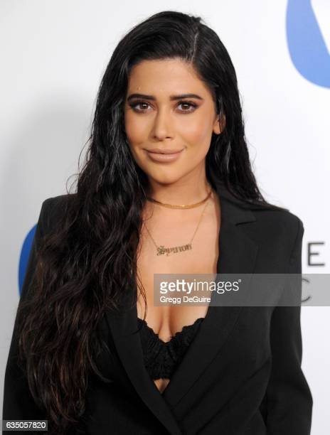 Symon arrives at Warner Music Group's Annual GRAMMY Celebration at Milk Studios on February 12 2017 in Hollywood California