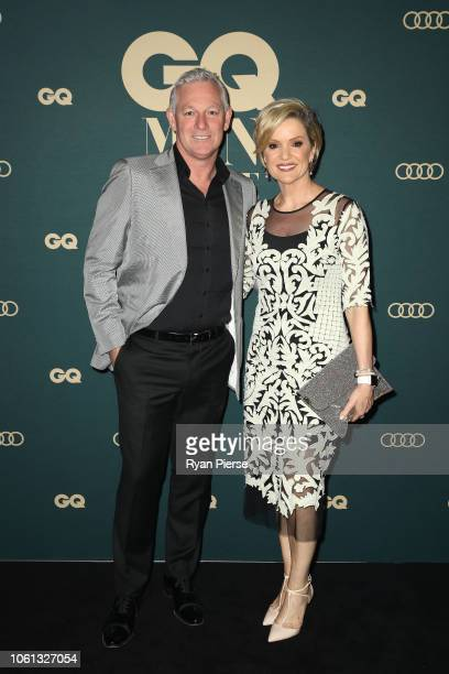 Symon Brewis-Weston and Sandra Sully attend the GQ Australia Men of The Year Awards at The Star on November 14, 2018 in Sydney, Australia.