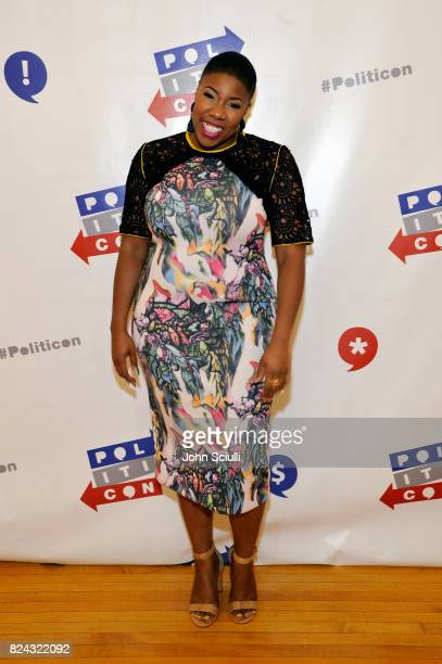 Symone Sanders at Politicon at Pasadena Convention Center on July 29 2017 in Pasadena California