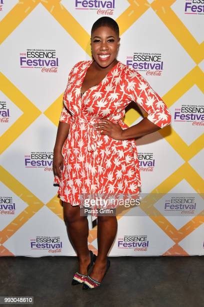 Symone Sanders attends the 2018 Essence Festival presented by CocaCola at Ernest N Morial Convention Center on July 6 2018 in New Orleans Louisiana