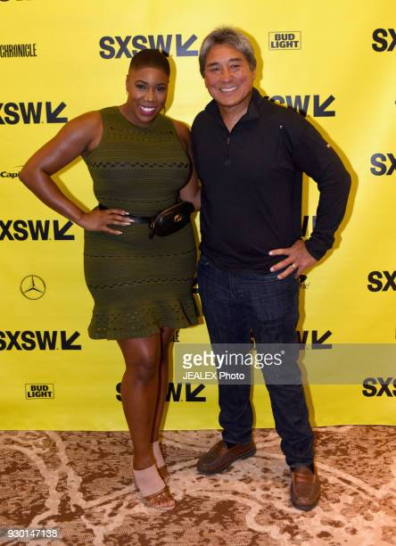 Symone Sanders CNN political analyst and Guy Kawasaki attend Technology Media and Politics during SXSW at the Hilton Hotel on March 10 2018 in Austin...