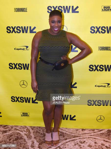 Symone Sanders CNN political analyst attends Technology Media and Politics during SXSW at the Hilton Hotel on March 10 2018 in Austin Texas
